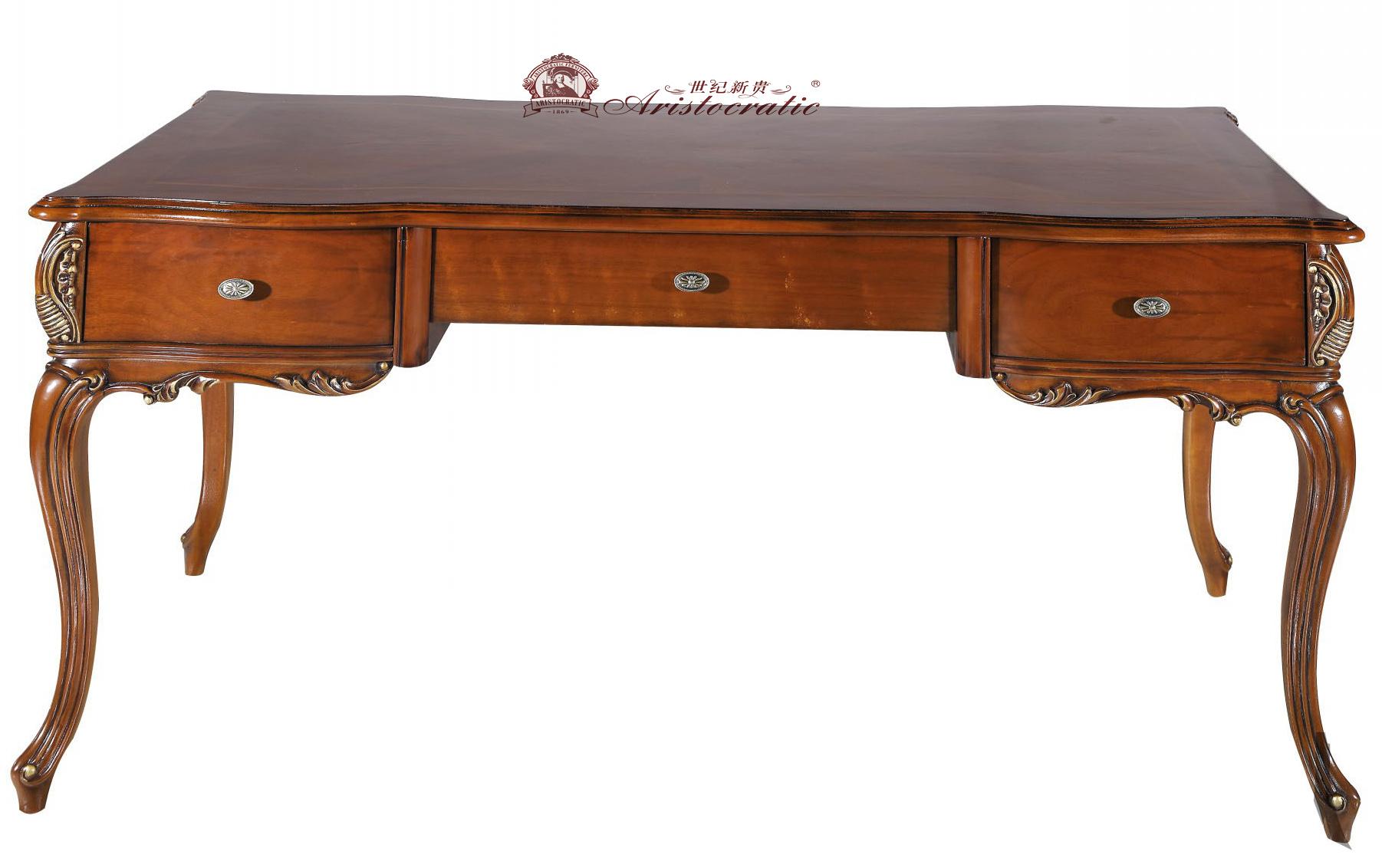 卡诺瓦欧式贵族皇室古典复古书桌